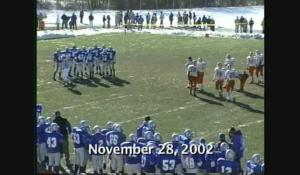 2002 Thanksgiving Day Football: North at Attleboro (11/28/02)