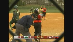 Softball: Brockton at Feehan (4/9/12)