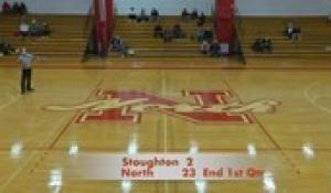 Girls' Basketball: Stoughton at North (1/13/21)