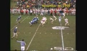 1998 Thanksgiving Day Football: North at Attleboro (11/26/98)
