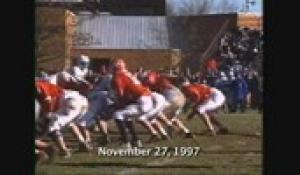 1997 Thanksgiving Day Football: Attleboro at North (11/27/97)