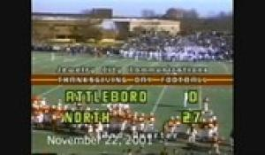 2001 Thanksgiving Day Football: Attleboro at North (11/22/01)
